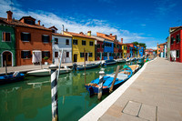 The streets of Burano